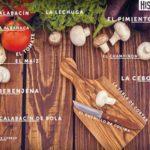 Hiszpańskie Warzywa - tapeta na pulpit / Hispanico.pl