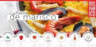 Infografika: Przepis na Paellę de marisco // Hispanico.pl