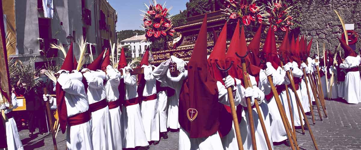 Obchody Semana Santa w Hiszpanii (Andaluzja)