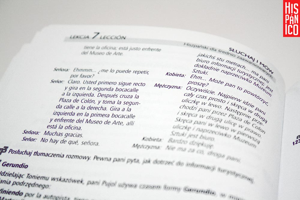 Nauka hiszpańskiego z audio kursem // Hispanico.pl