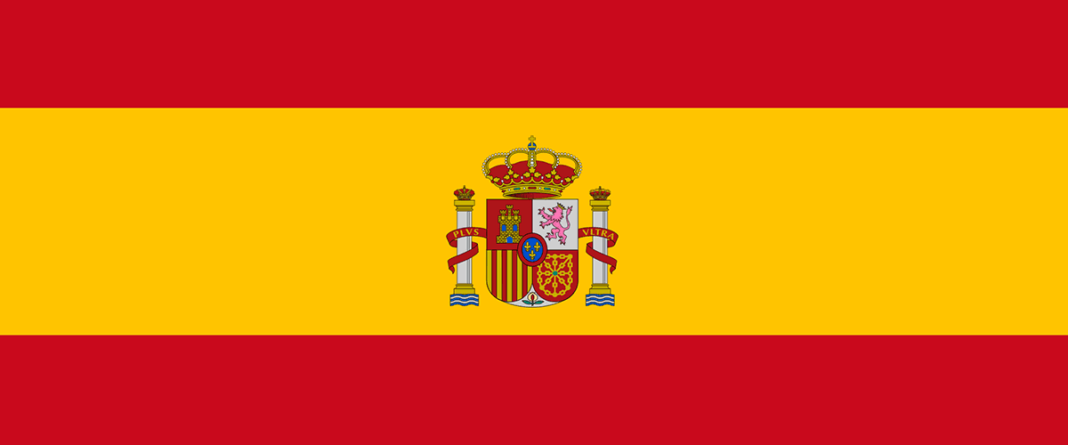 Hiszpania - Flaga, kolory, opis, historia i wskazówki jak narysować flagę Hiszpanii