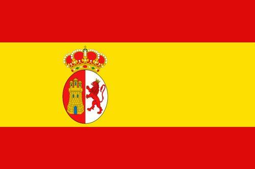 Flaga morska Hiszpanii i flaga narodowa (1785-1873 r.) // Hispanico.pl