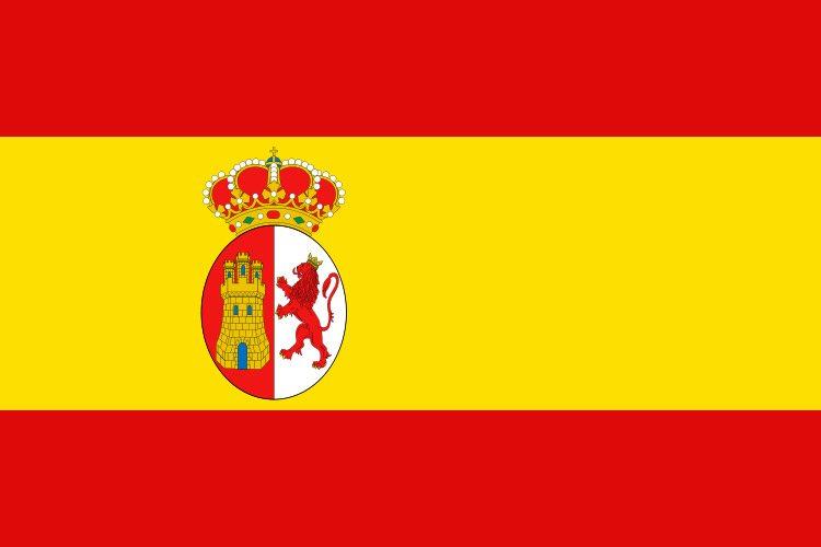 Flaga morska Hiszpanii i flaga narodowa (1875-1931 r.) // Hispanico.pl