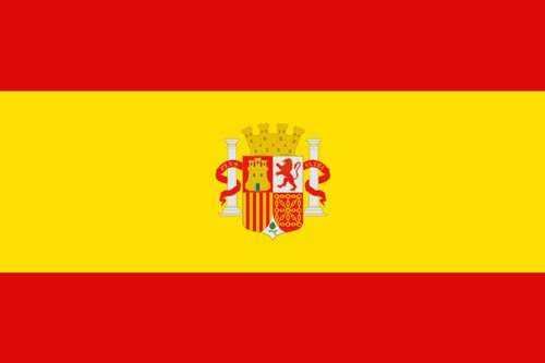 Flaga używana przez opozycję władzy Hiszpanii (13 września 1936 - 2 lutego 1938 r.) // Hispanico.pl