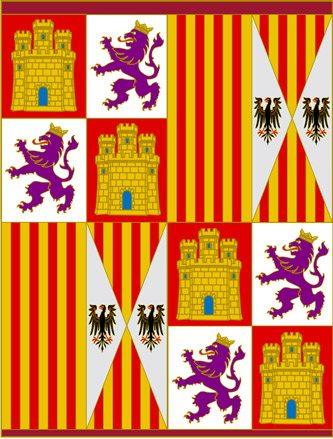 Sztandar Królów Katolickich (od 1475 r.) // Hispanico.pl