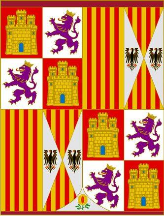 Sztandar Królów Katolickich (od 1492 r.) // Hispanico.pl