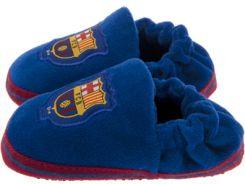 Gadżety FC Barcelona, kapcie dziecięce // Hispanico.pl