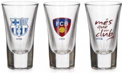 Gadżety FC Barcelona, kieliszki // Hispanico.pl