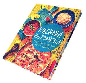 "Książka ""Kuchnia hiszpańska"" - okładka // Hispanico.pl"