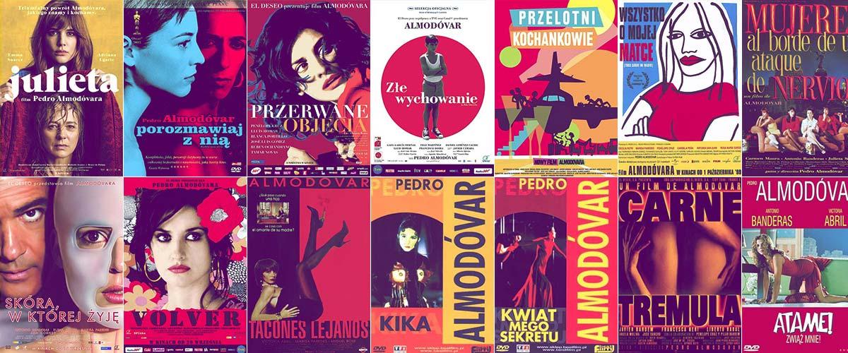 Filmy Pedro Almodóvara - pełnometrażowe i krótkometrażowe! // Hispanico.pl