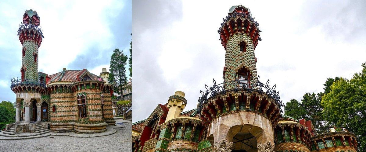 El Capricho de Gaudi - zabytek i muzeum w Comillas (Hiszpania) // Hispanico.pl