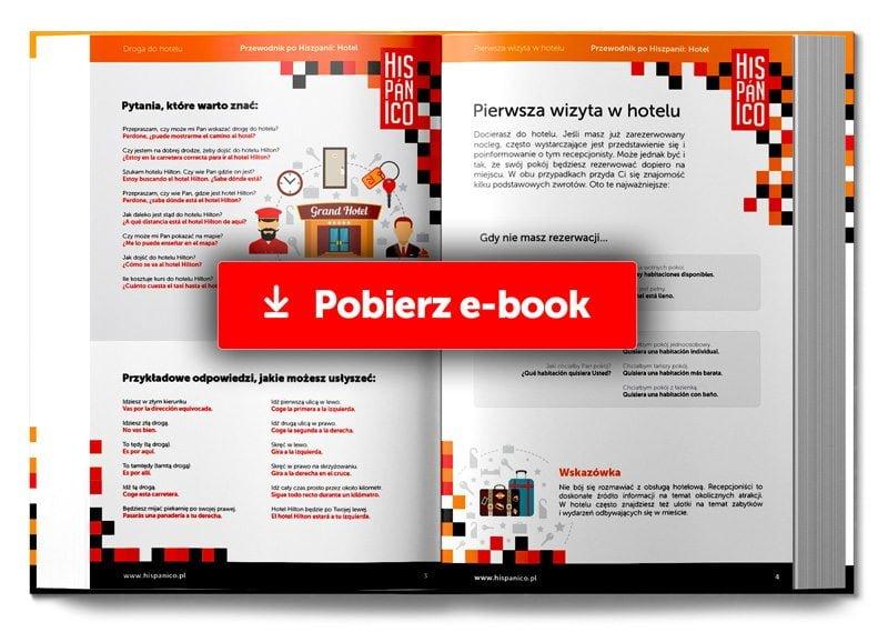 Przewodnik po Hiszpanii: Hotel - POBIERZ Bezpłatny E-book! // Hispanico.pl