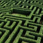 Labirynt w Villapresente - największy labirynt ogrodowy w Hiszpanii // Hispanico.pl