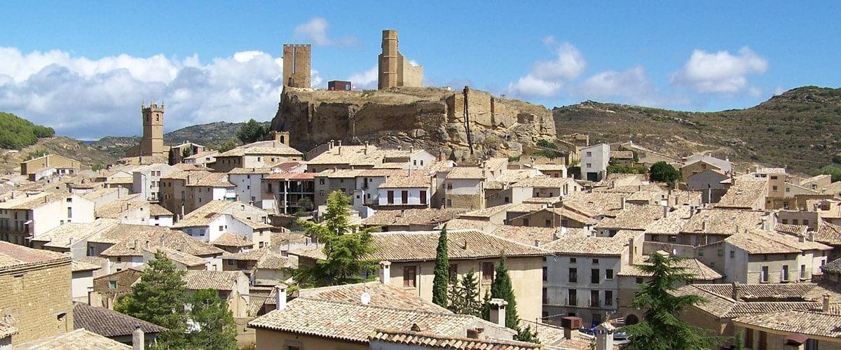 Uncastillo - miasteczko w komarce Cinco Villas (Aragonia, Hiszpania) // Hispanico.pl