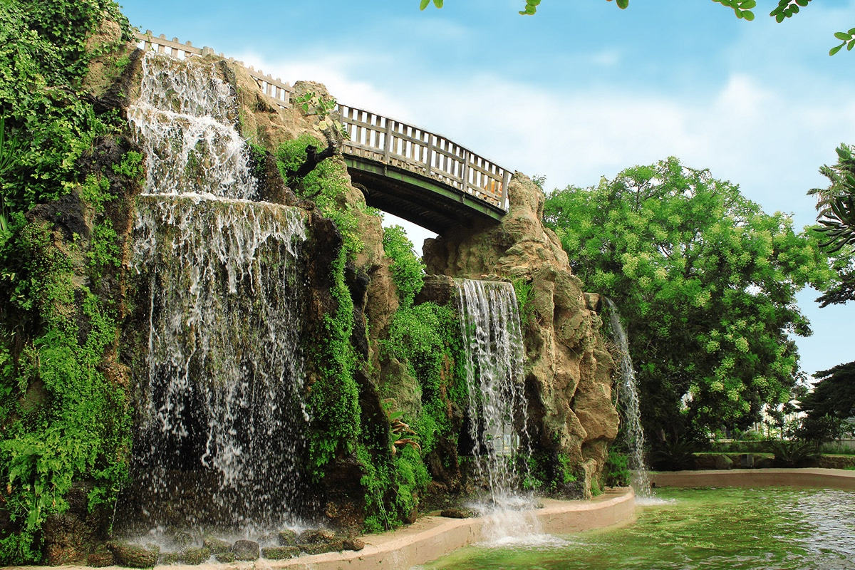 Kadyks to najstarsze miasto Europy. Na zdjęciu: Park Genovés (El Parque Genovés).