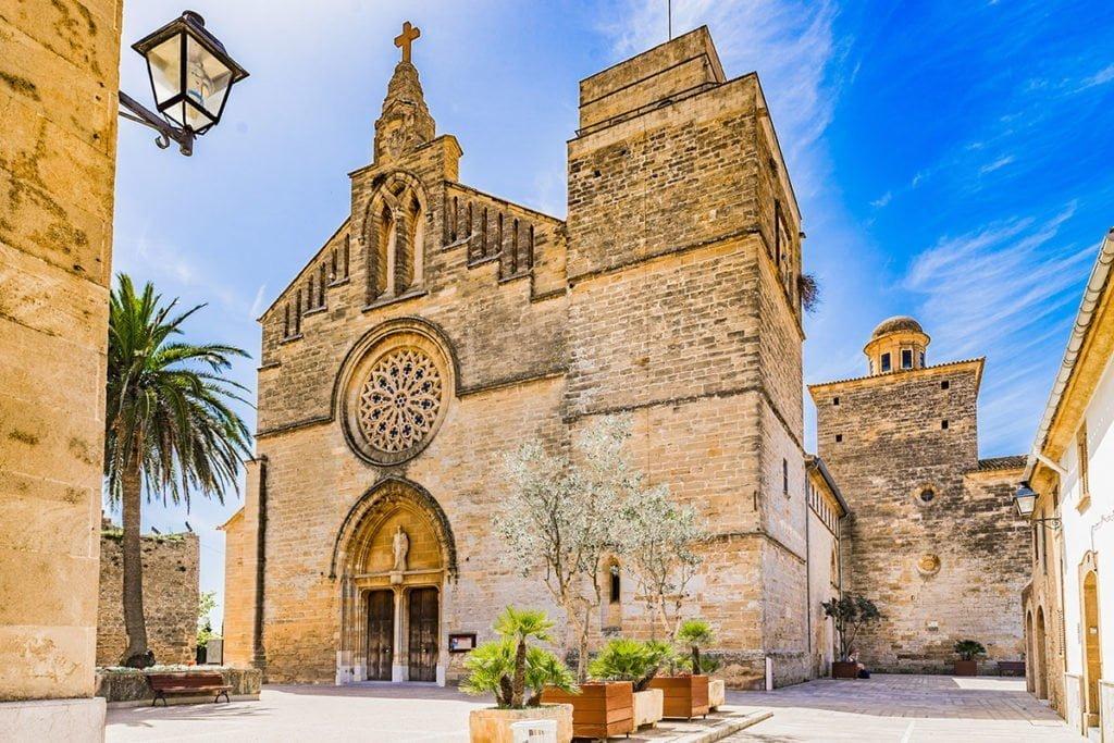 Kościół Iglesia de Sant Jaume, Alcúdia (Majorka)