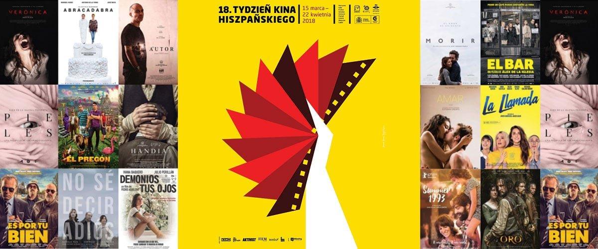 18. Tydzień Kina Hiszpańskiego (15 marca - 22 kwietnia 2018) // Hispanco.pl