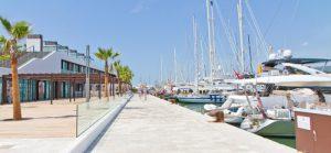Nowoczesny port w Palma de Mallorca // Hispanico.pl