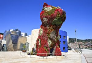 Puppy, Jeff Koons (1992) // Hispanico.pl