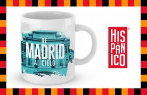 "Kubek Hiszpański ""De Madrid Al Cielo"" - www.hispanico.pl/allegro"