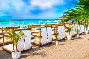 Plaża na Costa Adeje