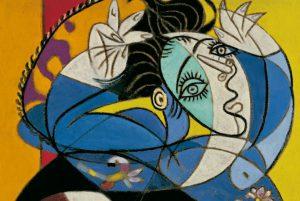 Mujer con los brazos levantados (1936)