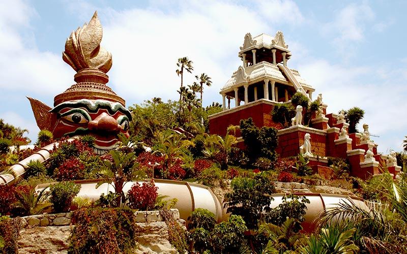 Siam Park zachwyca także ciekawą architektur