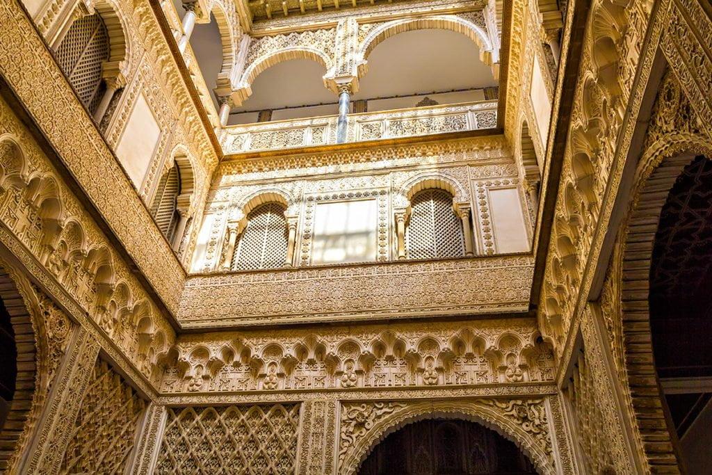 Patio de las Muñecas - Pałac Królewski Alkazar, Sewilla (Hiszpania)