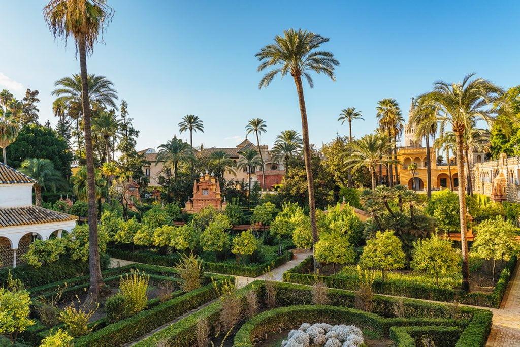 Ogrody Alkazaru (Jardines del Alcázar de Sevilla)