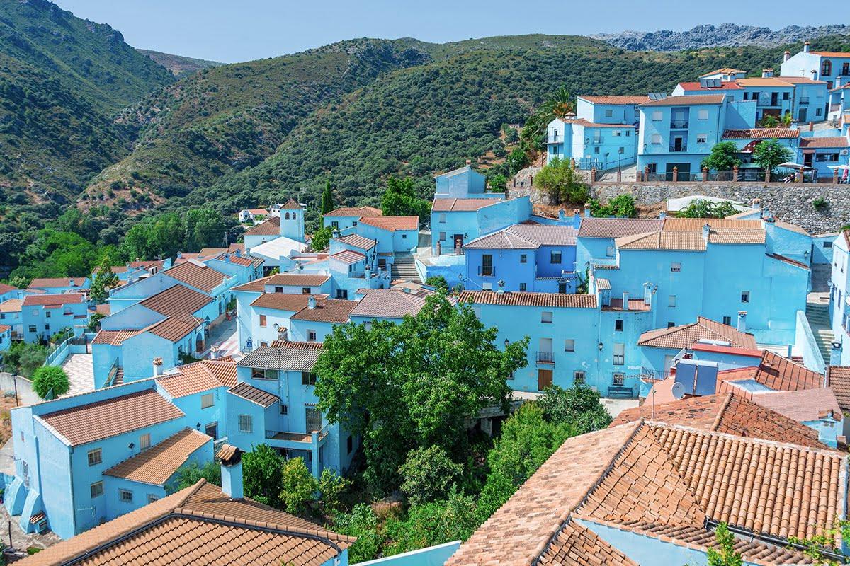 JÚZCAR - Prawdziwa Wioska Smerfów w Andaluzji (Hiszpania)