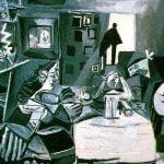 """Fragment obrazu """"Las Meninas"""" autorstwa Pabla Picasso"""
