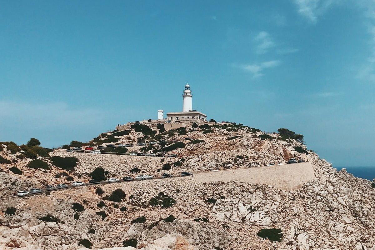 Latarnia morska na Półwyspie Formentor