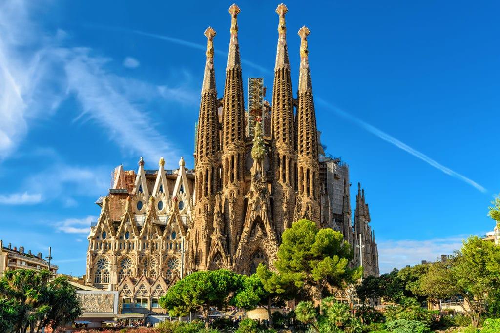 La Sagrada Familia - Bazylika w Barcelonie (Hiszpania)