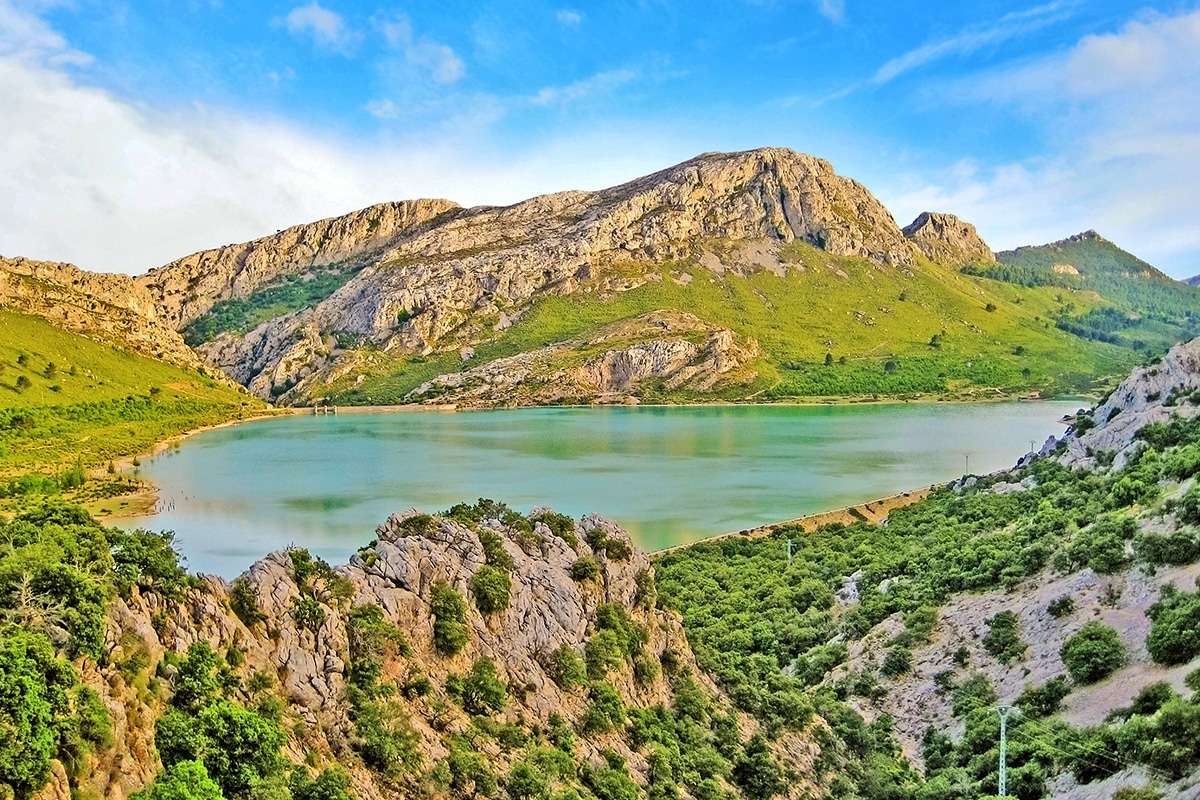 Pasmo górskie Serra de Tramuntana na Majorce