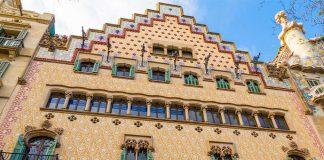 Casa Amatller - Zabytkowa kamienica w Barcelonie