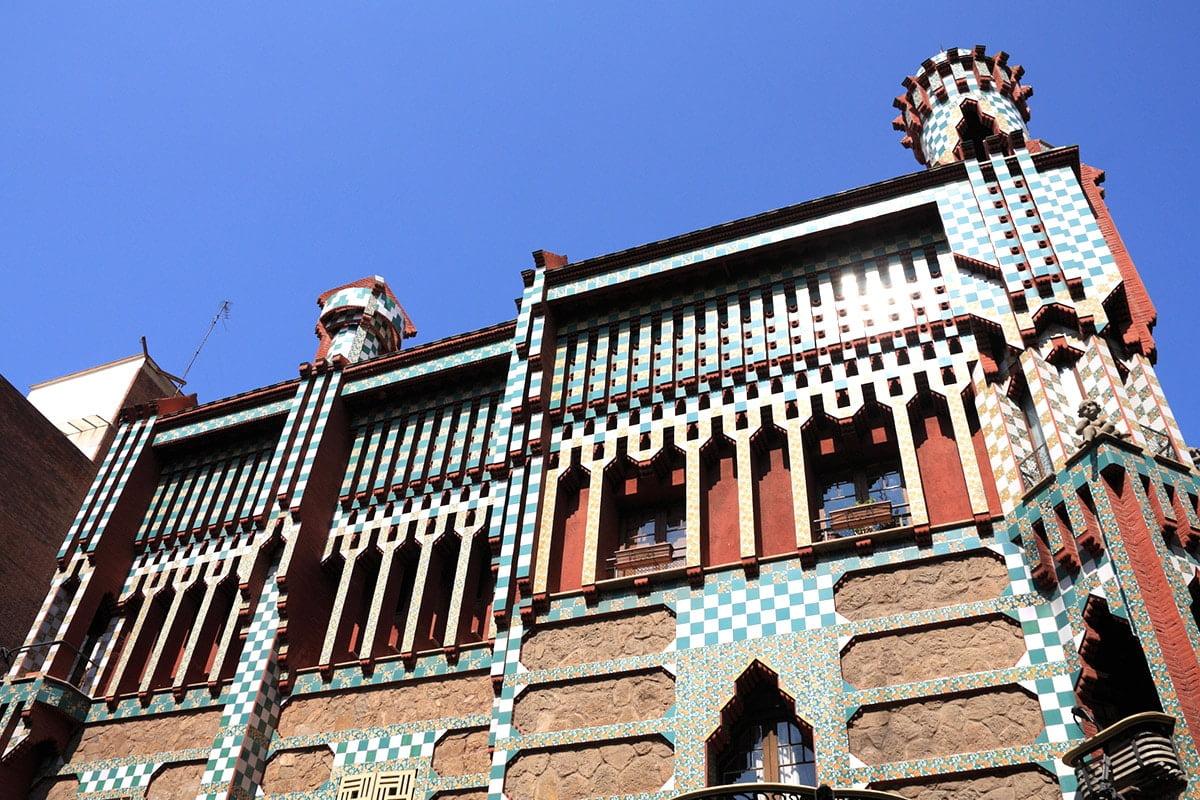 CASA VICENS - Zabytkowy dom w Barcelonie