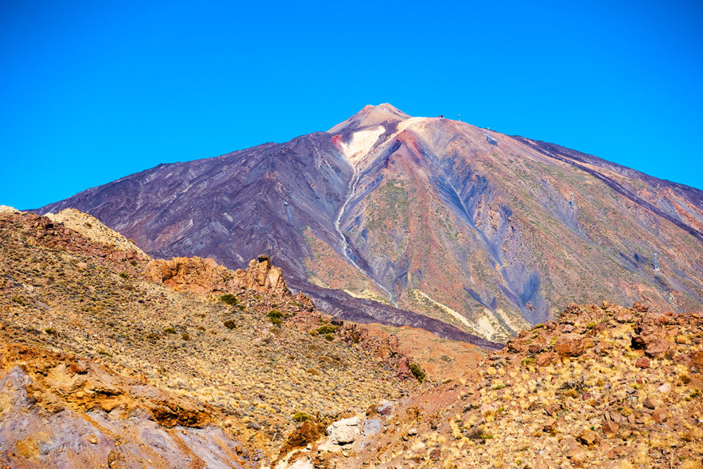 El Teide to najpopularniejszy wulkan na Wyspach Kanaryjskich