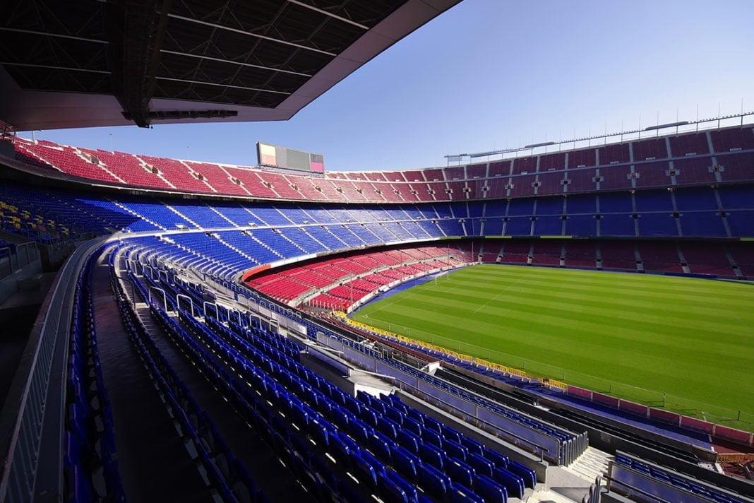 Stadion Camp Nou w Barcelonie