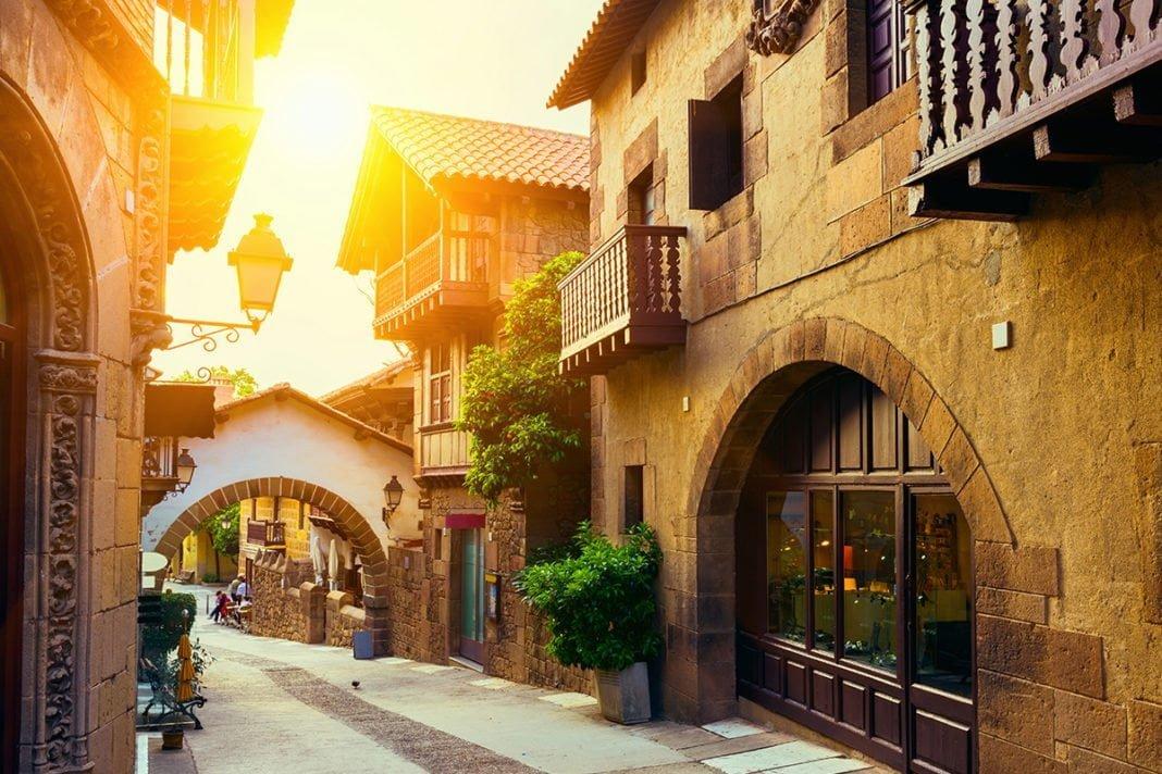 Poble Espanyol - Hiszpańskie miasteczko w Barcelonie