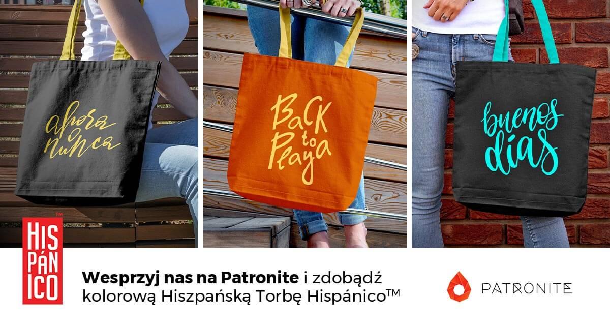 Kolorowe Hiszpańskie Torby potrzebują Twojego wsparcia!