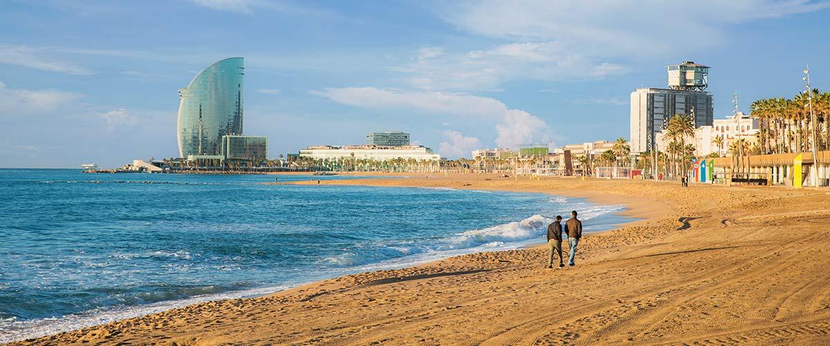 Barcelona Hotele przy plaży - Ranking