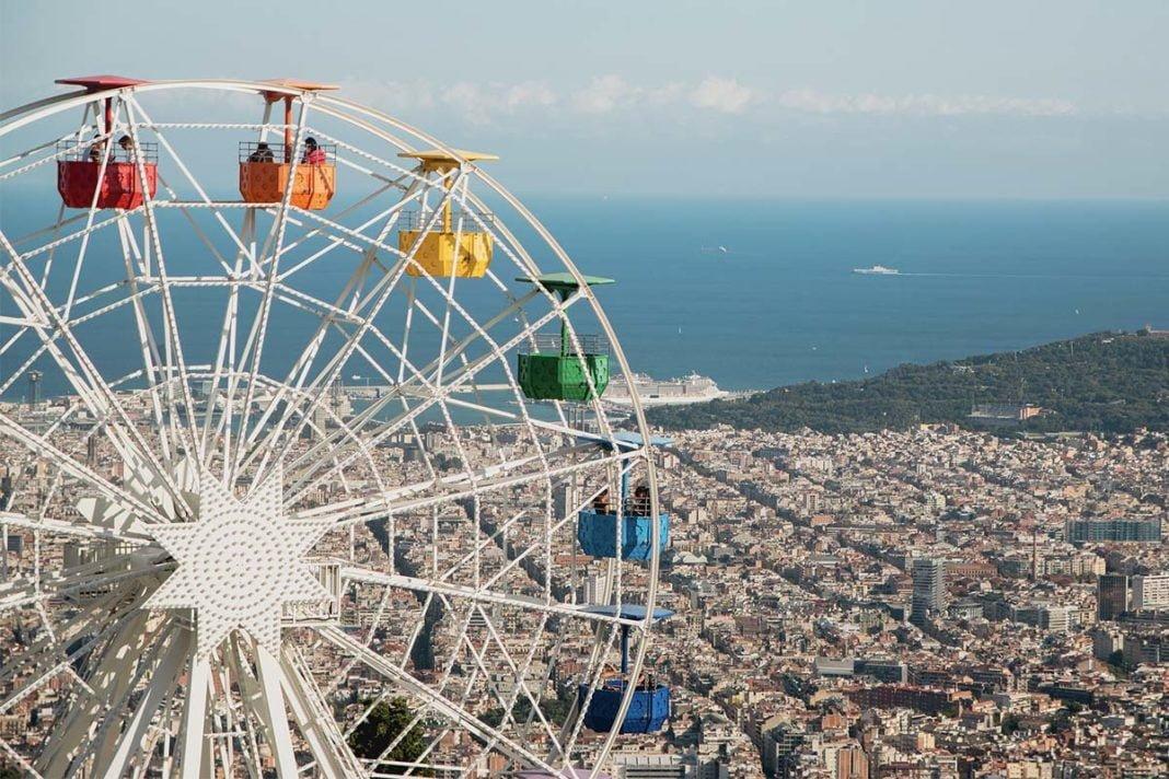 Park rozrywki Tibidabo w Barcelonie