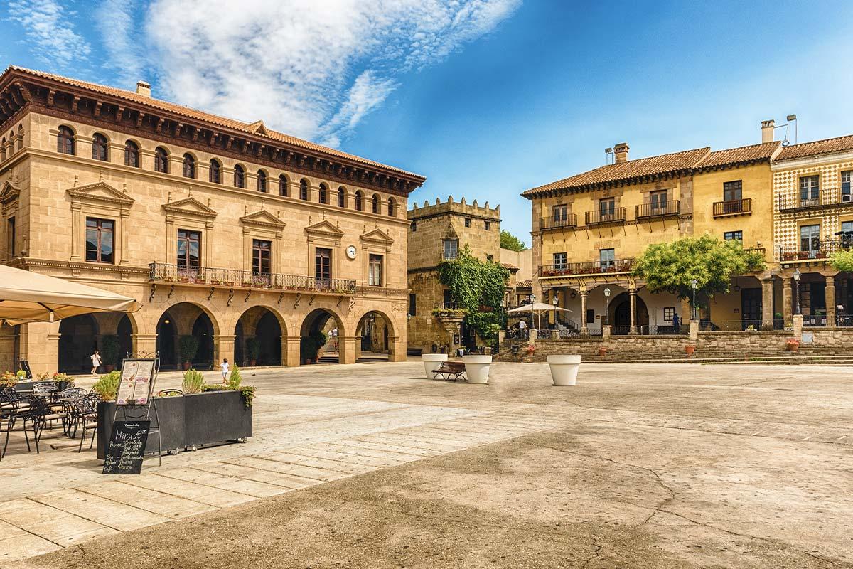 Poble Espanyol - Hiszpańska wioska w Barcelonie
