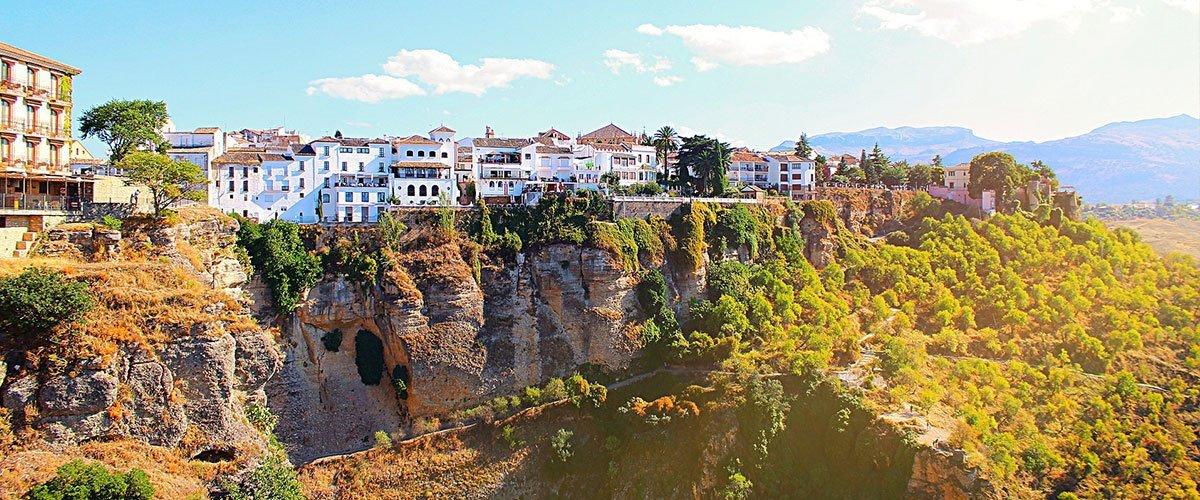 Ronda - jedno z najbardziej romantycznych miast w Andaluzji