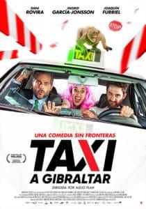 "Plakat z filmu ""Taksówką na Gibraltar"""