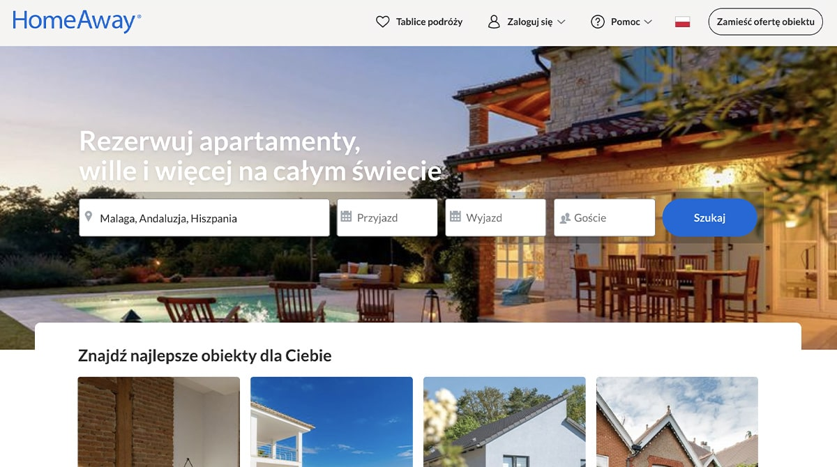 Serwis HomeAway
