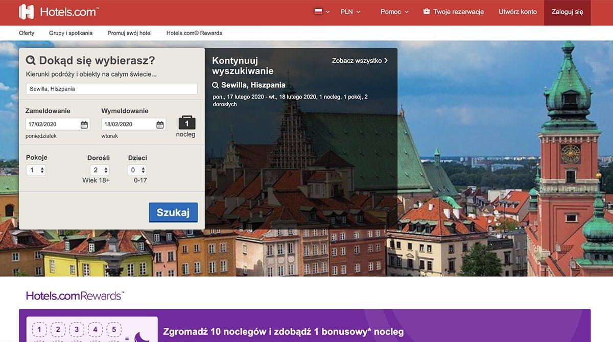 Serwis Hotels.com