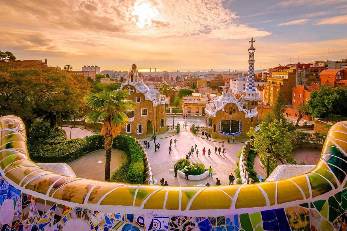 Park Güell w Barcelonie