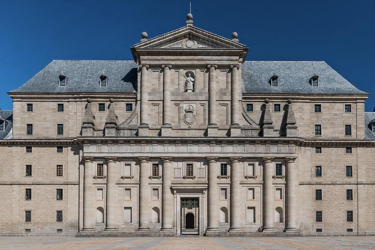 Fasada Real Monasterio de San Lorenzo de El Escorial
