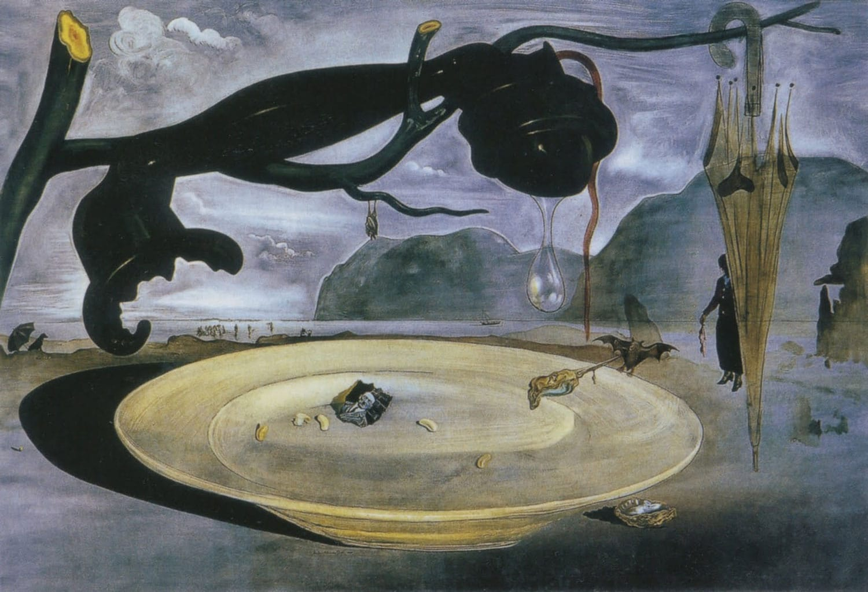 """Enigma Hitlera"" Salvador Dali (Museo Nacional Centro de Arte Reina Sofía, Madryt)"